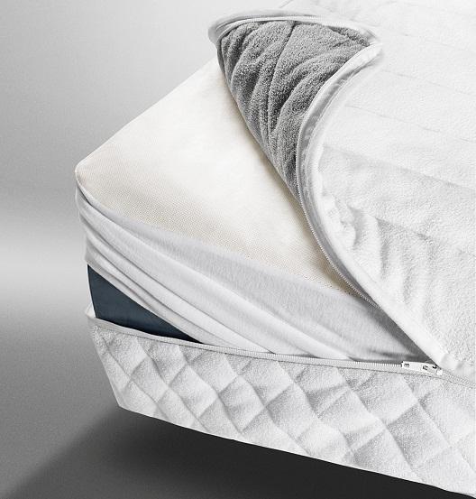 Topliner vam olajša vzdrževanje vodne postelje in poskrbi za zaščito notranjosti postelje