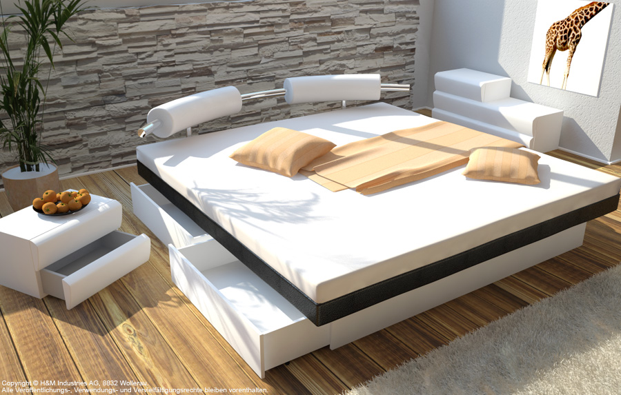 Predali za dodatni prostor pod vodno posteljo